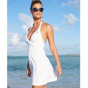 Polo Ralph Lauren terry halter dress/cover up
